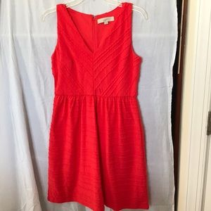 Loft dress. Fully lined. Size 0